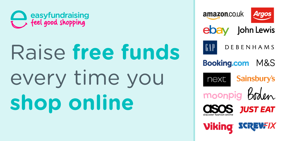 Help us raise money…the easy way with easyfundraising!