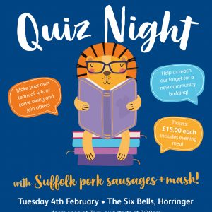 quiz night 4th February 2020 at the 6 Bells in Horringer