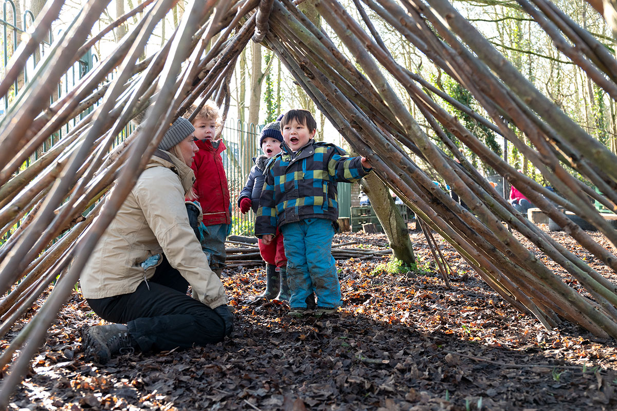Half Term Forest School Camp